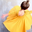 Thumbnail: Yellow Forest Twirl Dress