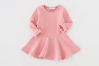 Dusty Pink Forest Twirl Dress