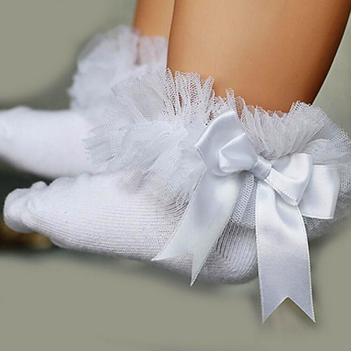 White Tutu Socks