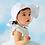 Thumbnail: Pretty Petal White Sun Hat