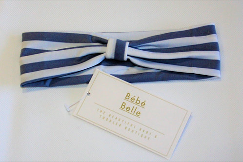 Grey Striped Hairband