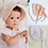 Thumbnail: Cotton Vintage Pink Bonnet