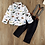 Thumbnail: Kiddisaurus Shirt & Braced Trouser Set