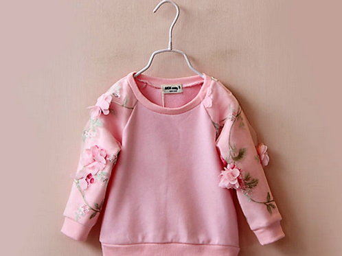 Pretty Little Petal Pink Sweater