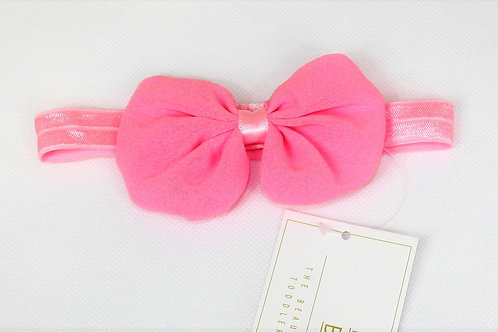 Baby Pink Riley Bow Hair Band