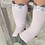 Thumbnail: Little Cutie Pink Mouse Knee High Socks