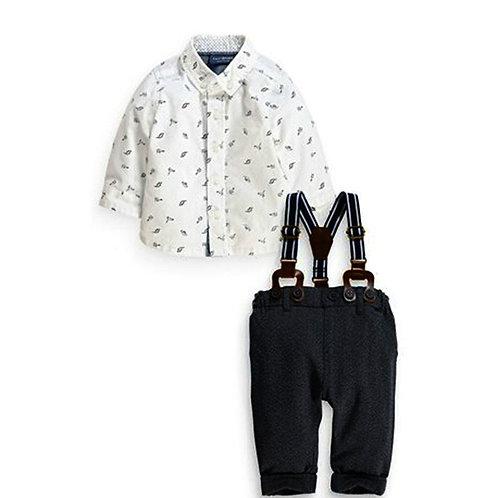 Dinky Dinosaur Shirt and Trouser Set