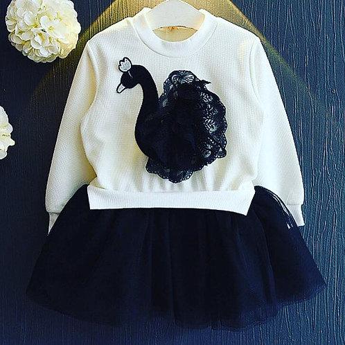 Swan Princess Tutu Dress