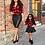 Thumbnail: Calabasas Cutie Shirt and Skirt Set