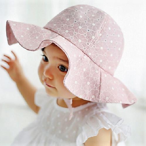 Pretty Petal Pink Sun Hat