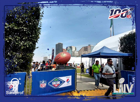 Super Bowl NFL Fan Zone | CDMX | Grupo Saniprof