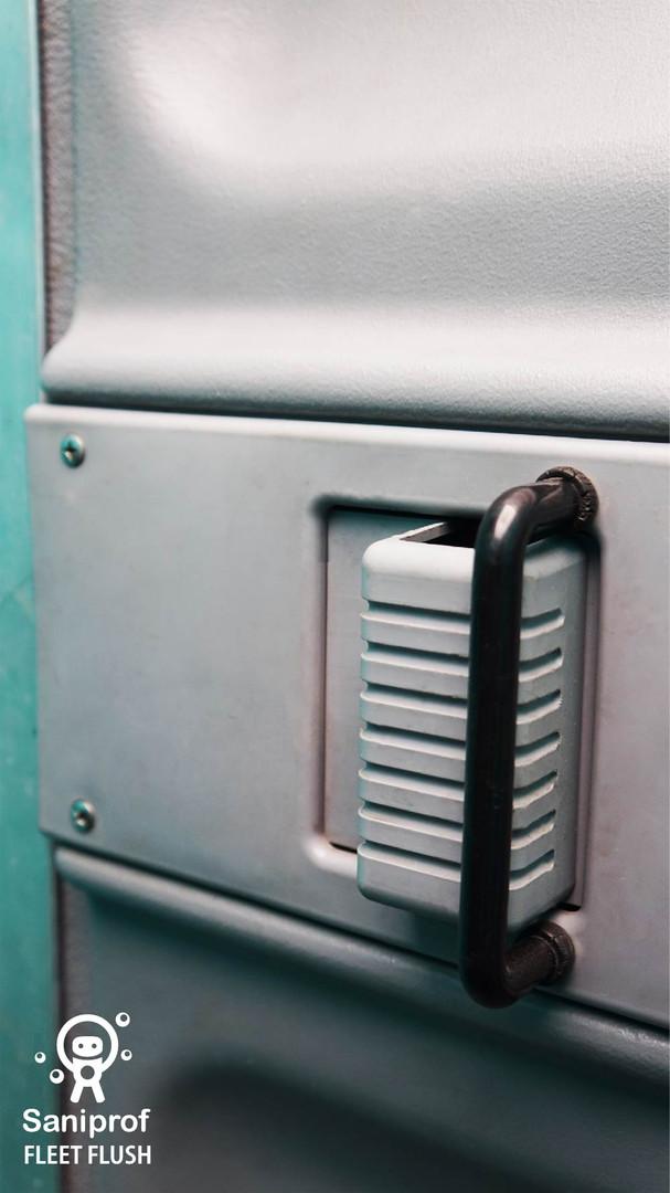 Pasador y porta candado
