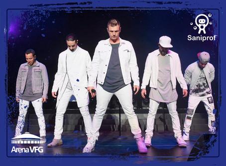 Backstreet Boys en Concierto | Guadalajara | Grupo Saniprof