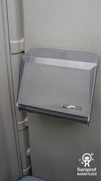 Dispensador de toalla inter doblada