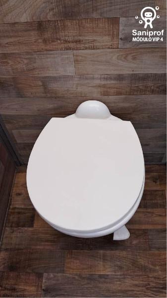 W.C. de porcelana y sistema flush