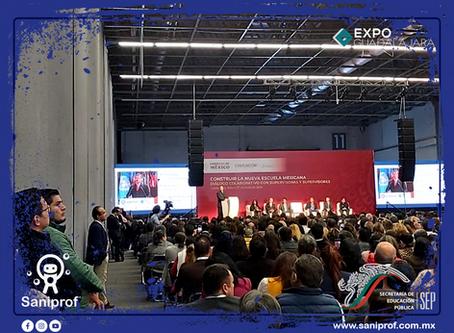 Construir la Nueva Escuela Mexicana | Guadalajara | Grupo Saniprof