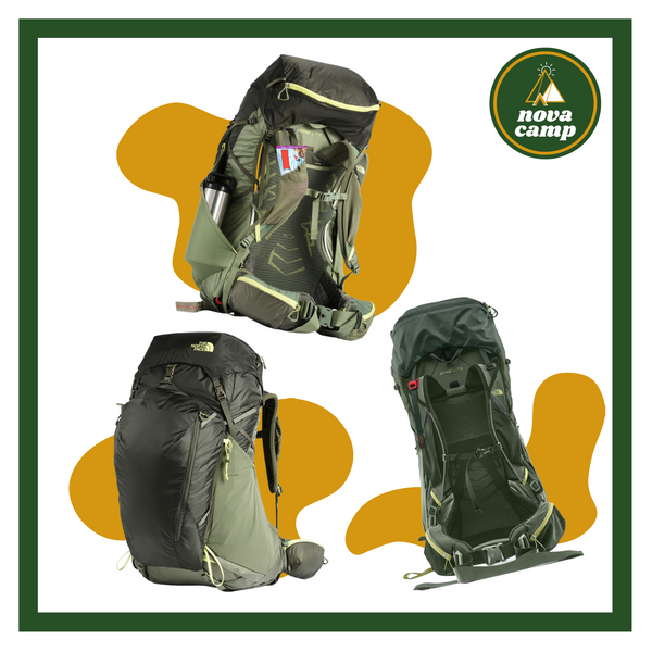 The North Face Banchee 65L Hiking Backpack