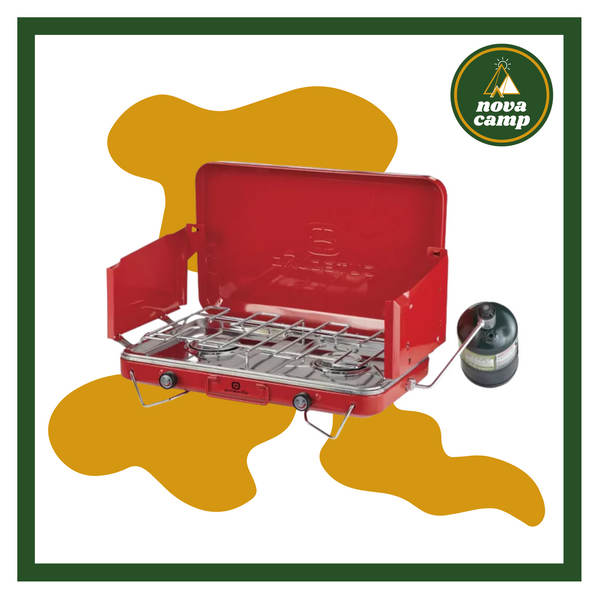 Outbound Double Burner Deluxe Stove