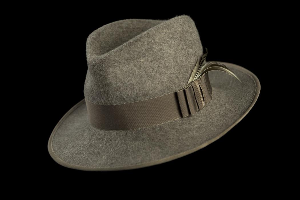 Grey Hat Ribbon