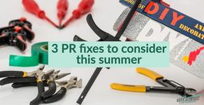 Summer homework - PR fixes