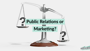 Do you need marketing, PR or both?