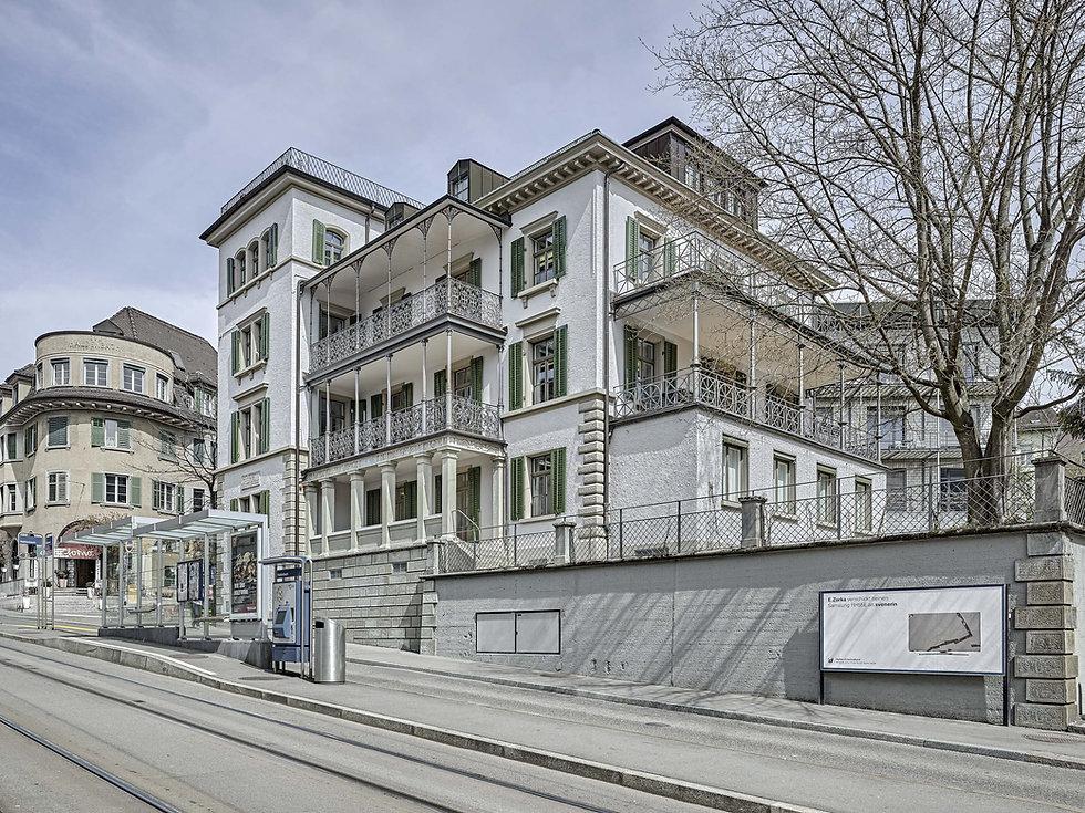 James Joyce Wohnhaus, Zürich 1918, Haldenbachstrasse 12