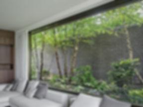 Blumenfenster Strukturbeton Strandweg Diethelm & Spillmann