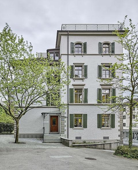 Denkmalpflege, Haldenbachstrasse, James Joyes, Sanierung