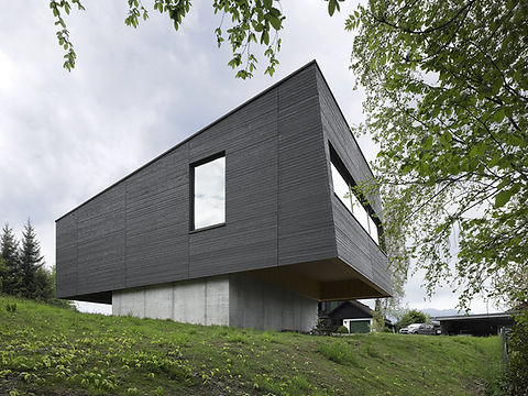 Passivhaus Mostelberg Südfassade