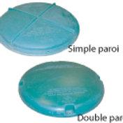 Couvercle simple paroi (LID-240S)