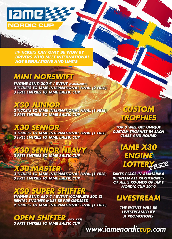 IAME Nordic Cup