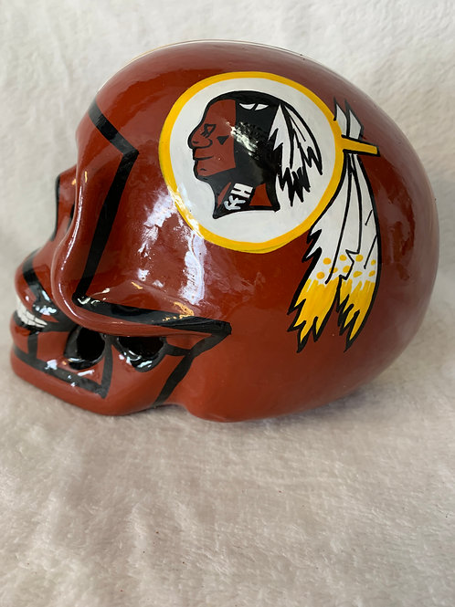 Washington Redskins Skull