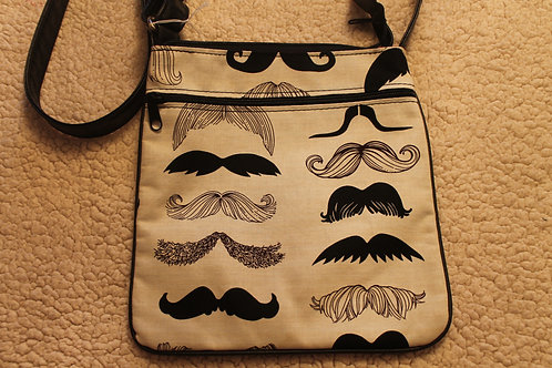 Cross Body Bag Mustache