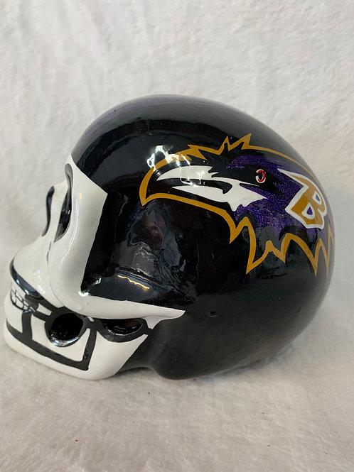 Baltimore Ravens Skull