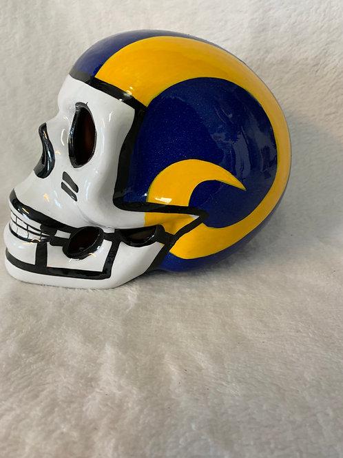 LA Rams Skull