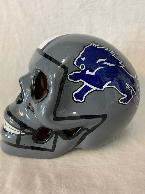 Detroit Lions Skull