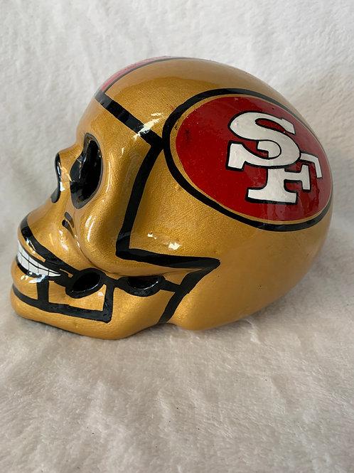 San Francisco 49ers Skull