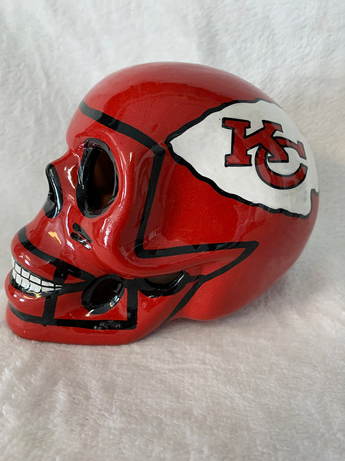 Kansas City Chiefs Skull