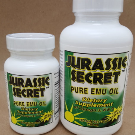 Emu Oil Dietary Supplement 90 ct