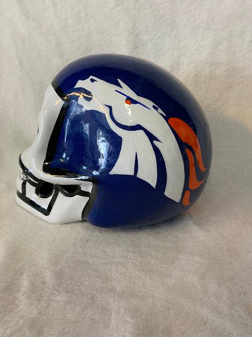 Denver Broncos Skull