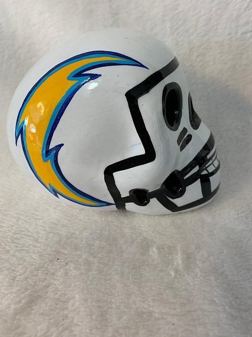 LA Chargers Skull
