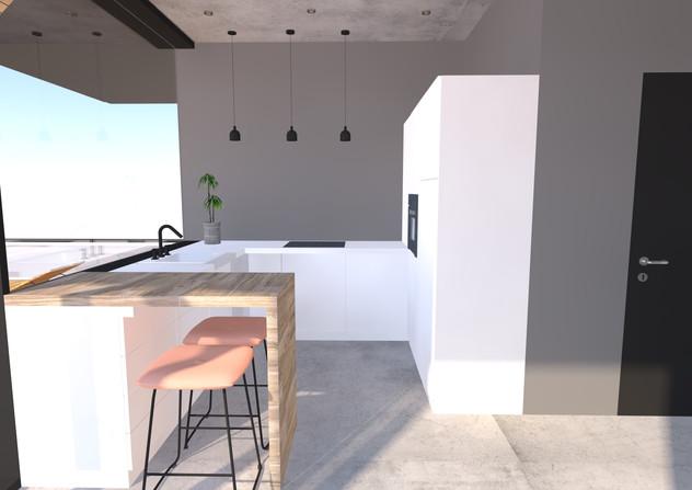 Cubehousen keittiö