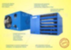 Агрегат воздушного отопления EUGEN S