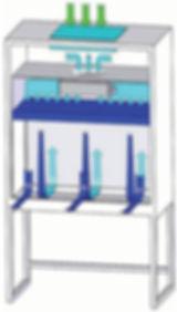 Вертикальный ламинарный бокс, KTV-S