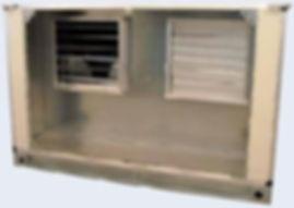 Секция вентиляторов со 100% резервированием