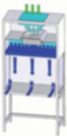 Вертикальный ламинарный бокс, KTV-A