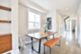 GARDNER AVENUE - CLOSE UP - DINNING ROOM