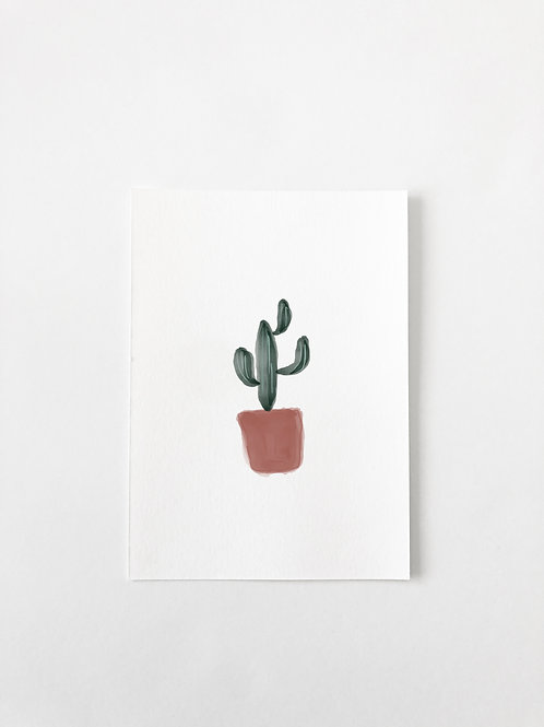 SKINNY CACTUS GREETING CARD