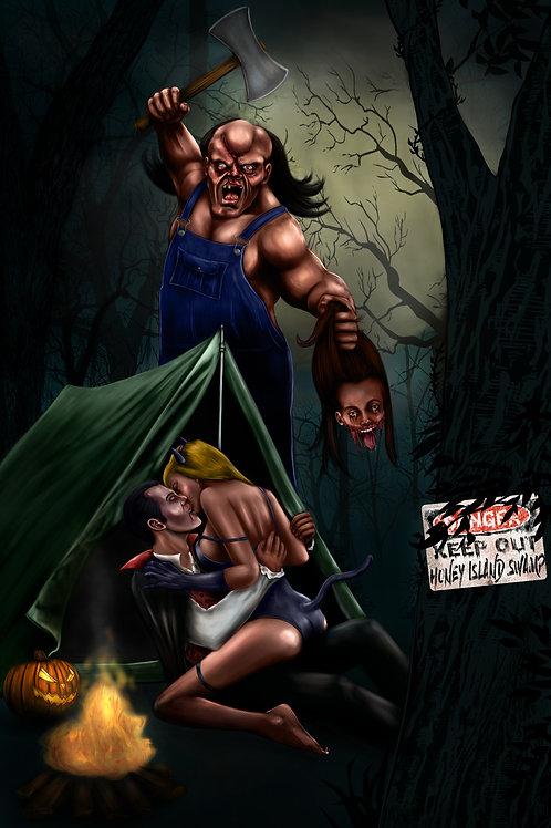 Victor Crowley-Hatchet poster