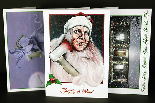Christmas Card 3 Pack